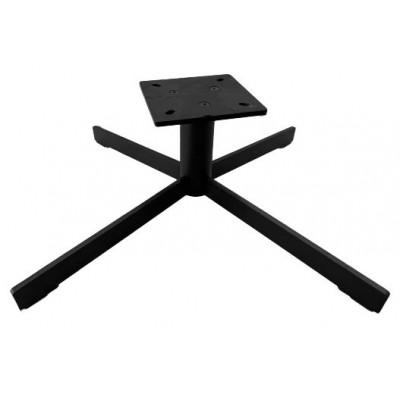 Опора поворотная для кресла Kapsan KDK-0009 60*220 мм матовая черная