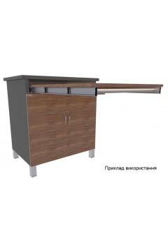 Направляющие для выдвижного стола алюминиевые (до 40 кг) Kapsan (Турция)