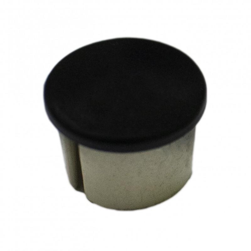 Заглушка для рейлинга d=16 мм пластик черная (Турция)
