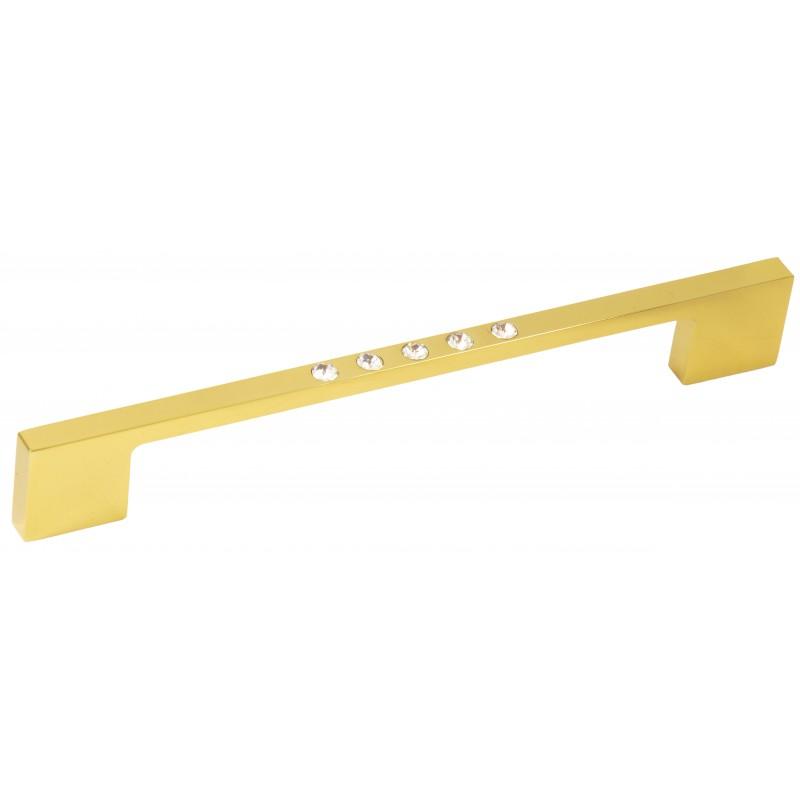 Ручка с кристаллами Swarovski 160mm System SY6571 золото