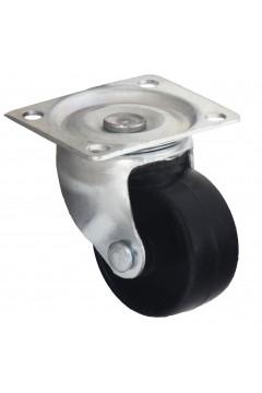 Ролик 339 поворотный, черный, пластиковый d=32 мм, h=43 мм HTS (Турция) до 42 кг