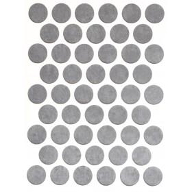Заглушка WEISS под конфирмат - смкл. 186 light grey conrete (светло-серый бетон)
