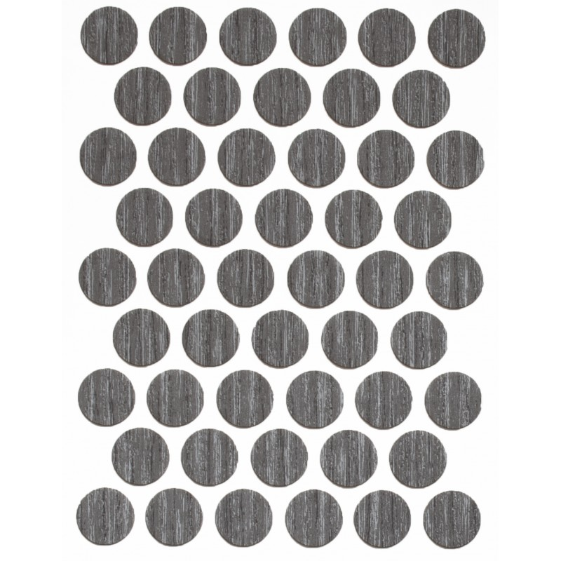 Заглушка WEISS под конфирмат - смкл. 1313 grey brown whiteriver oak (дуб вайтеривер серо-коричневый)
