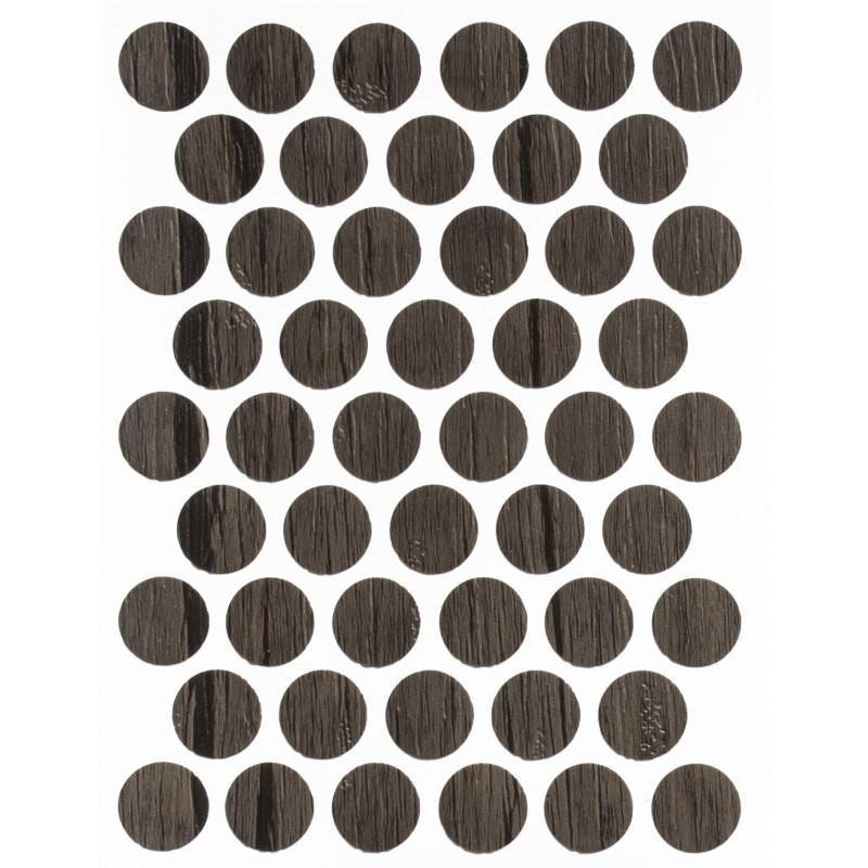 Заглушка WEISS под конфирмат - смкл. 0282 antik kahve (античный коричневый)