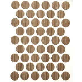 Заглушка WEISS под конфирмат - смкл. 1267 dis budak molina (ясень молина песочный)