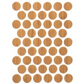 Заглушка WEISS под конфирмат - смкл. 1304 (bambu) глянец бамбук