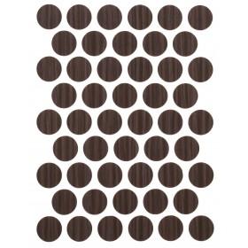 Заглушка WEISS под конфирмат - смкл. 1428 freze moka (мокко)