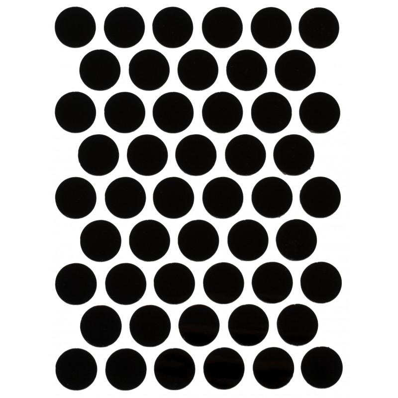 Заглушка WEISS под конфирмат - смкл. 1960 черный глянец