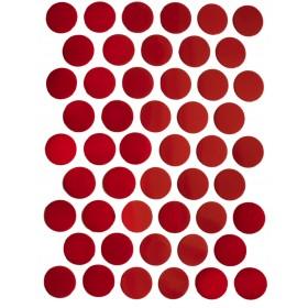 Заглушка WEISS под конфирмат - смкл. 1962 глянец красный