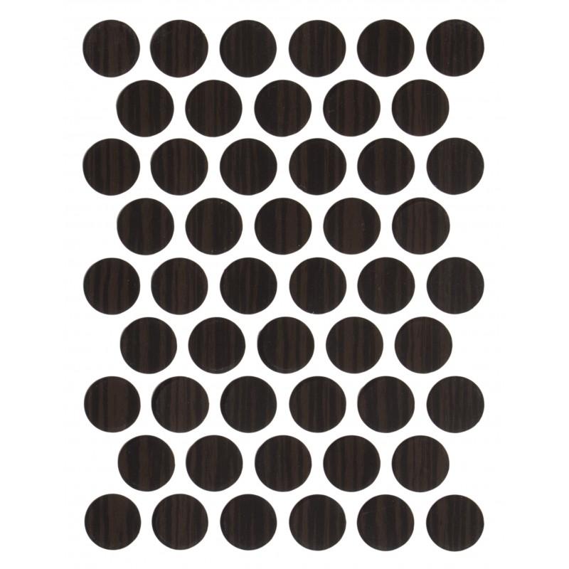 Заглушка WEISS под конфирмат - смкл. 3428 zebrano (зебрано)
