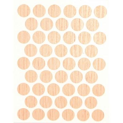 Заглушка WEISS под конфирмат - самоклейка 8622 Milk Oak