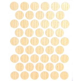 Заглушка WEISS под конфирмат - самоклейка 9420 Mainau Birch