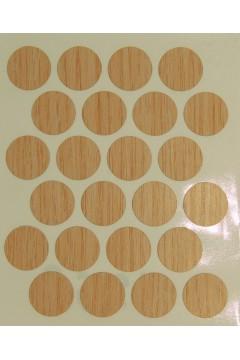 Заглушка WEISS под минификс - самоклейка 8567 Oak Winch
