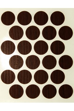 Заглушка WEISS под минификс - самоклейка 8620 Chestnut