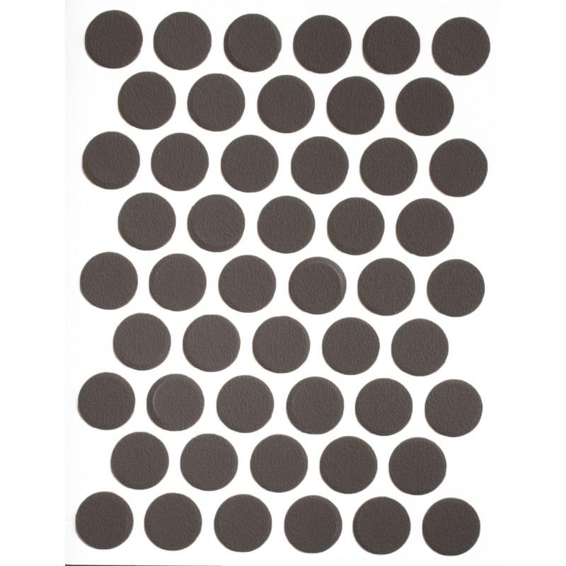 Заглушка WEISS под конфирмат - смкл. 748 truffle brown (трюфельно-коричневый)