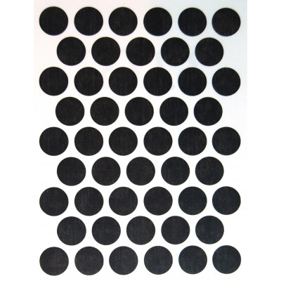 Заглушка WEISS под конфирмат - самоклейка 3265 Concrete Dark