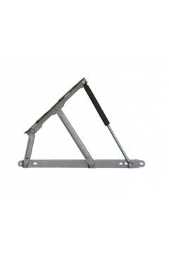 Механизм газовый для подъема основания кровати до 40° (без лифта на 750N, 1200N) черный