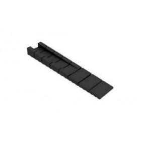 Клин пластиковый 9,2*20*100 мм черный Mesan (Турция)
