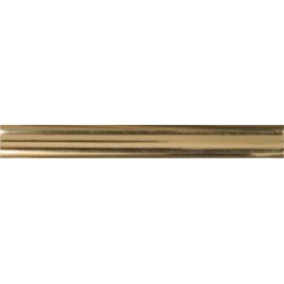 Молдинг M04 золото (9 мм) - по 100 метров (за 1 метр погонный)