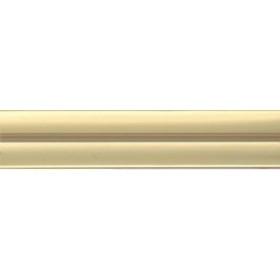 Молдинг M51 матовое золото (16 мм) - по 125 метров (за 1 метр погонный)