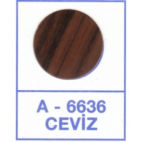 Загл. WEISS под конфирмат - смкл. 6636 Ceviz (Глянцевый Орех)