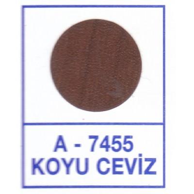 Загл. WEISS под конфирмат - смкл. 7455 Koyu Ceviz (Темный орех)